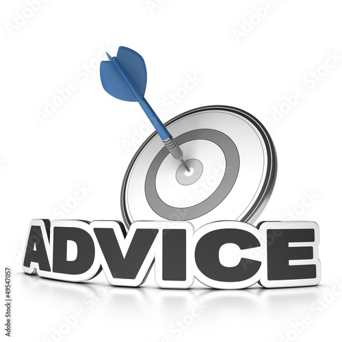 Advice Concept, business consulting.