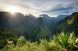 Lever de soleil au Cap Noir , Ile de la Réunion