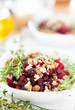 salad of roasted beets and walnuts