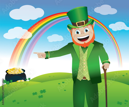 Saint Patrick's Day Leprechaun