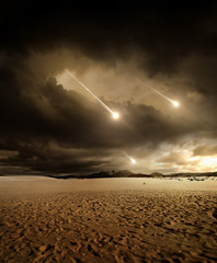 Meteors to the sky