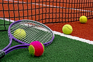 Tennis Balls & Racket-5