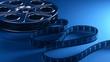 Film reel with filmstrip