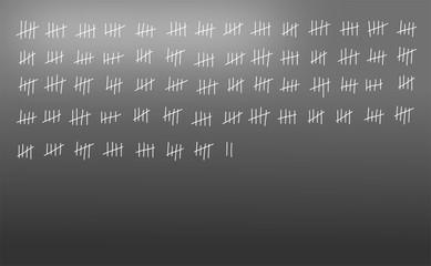 Kreidestriche - zählen
