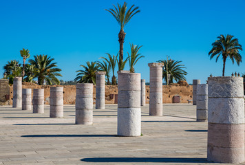 Square with columns