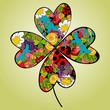 Spring vibrant flower