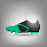 football boot icon vector illustration