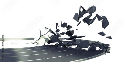 Schallplatte, Party, Musik, Bruch, Zerstörung © rendermax
