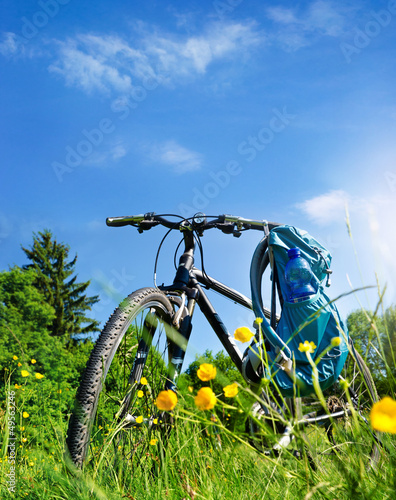 Fahrradtour Natur Sommer - Trekking Bike Tour in Summer - 49563246