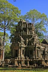 Chau Say Tevoda temple, Angkor area, Cambodia