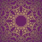 Vintage lace seamless wallpaper. Retro design. Orignal style