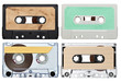 music audio tape vintage - 49564256