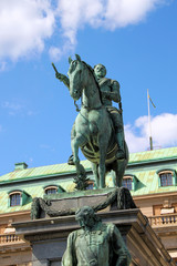 Denkmal Gustav II Adolf in Stockholm