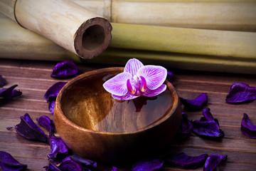 decoración del spa