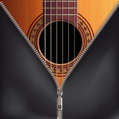 Guitare housse