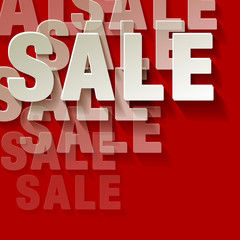 Sale rot Ecke