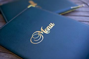 Menu, carte, restaurant, choix, luxe, gastronomie, mot