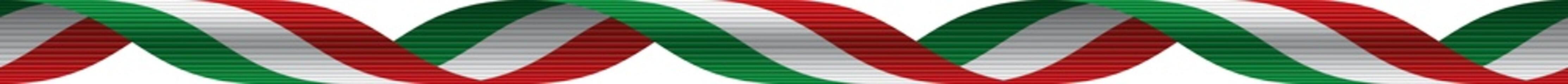 Nastro tricolore italiano - Italian ribbon