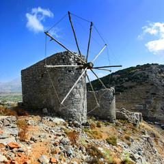 Grèce (Crète) - Moulins du Plateau de Lassithi