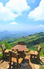 Mountain view in Phetchaburi province of Thailand