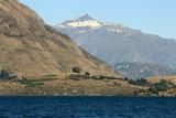 lake Wanaka with Mt Aspiring poster