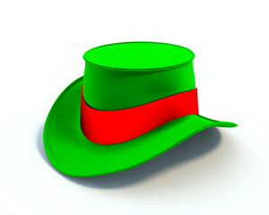 Colorful magic hat