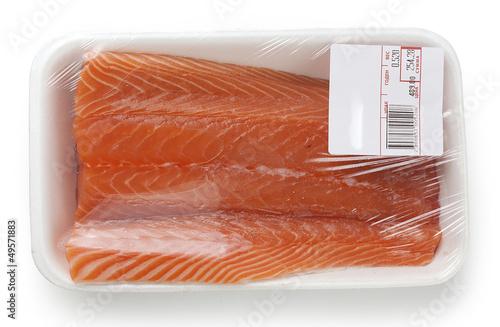 Salmon's fillet
