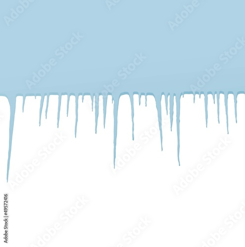 Icicles vector background