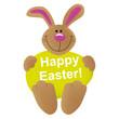 "Bunny ""Happy Easter"""