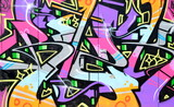 Fototapete Grossstadtherbst - Abstrakt - Graffiti