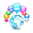 Vector global communication symbol