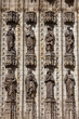 Sculptures of Saints on Seville Cathedral Facade