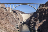 Hoover Dam Bypass Bridge Canyon View