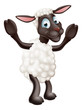 Sheep cartoon character