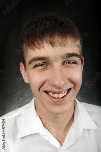 Happy Young Man Portrait