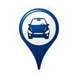 icône, symbole, logo, voiture
