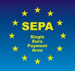 SEPA Euroflagge