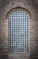 Barred Mosque Window