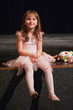 Cute little ballerina girl