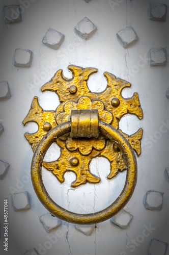 Golden Door Knocker vignette