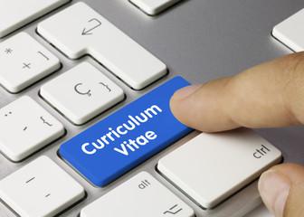 Curriculum Vitae keyboard key