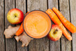 Leinwanddruck Bild - healthy juice