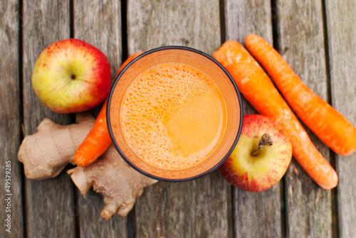 Leinwanddruck Bild healthy juice