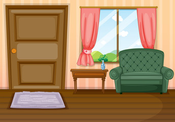 Furnitures inside the house