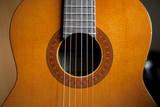 chitarra classica rosa cassa armonica corde
