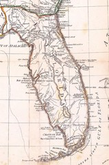 Florida old map