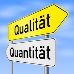 schild lr qualität quantität I