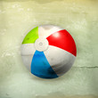 Beach ball, old-style