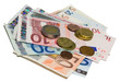 Euro paper currency