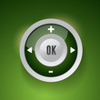 Control Web Element Button green